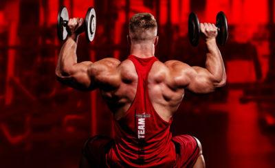 treinando ombro